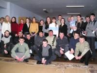2005 рік. Зустріч колишніх пацієнтів, вилікуваних від онко-гематологічних захворювань #1