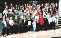 2000 рік. Зустріч дітей, вилікуваних в центрі від онко-гематологічних захворювань #1