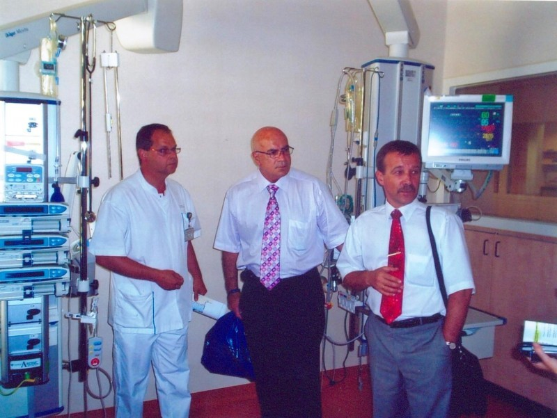 2007. Visit to a foreign clinic #1