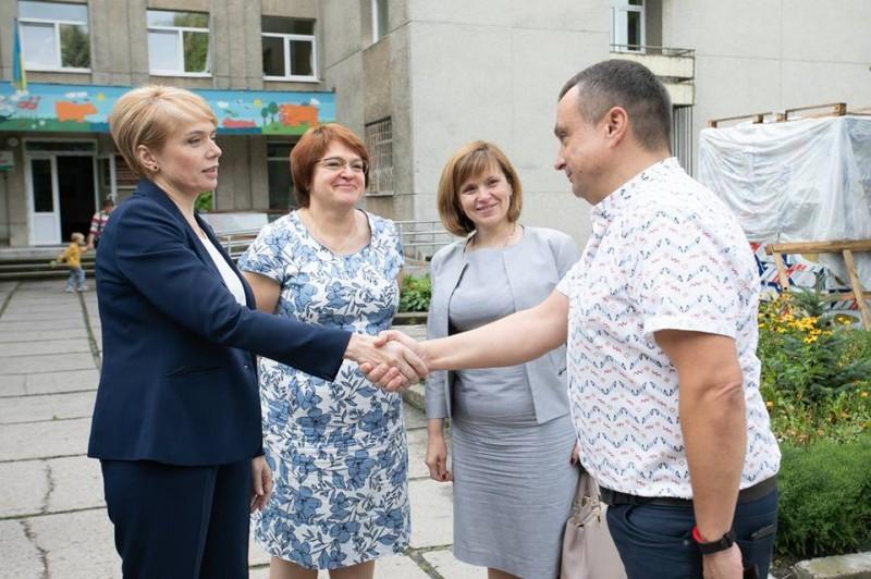 Наш Центр відвідала Міністр освіти України Лілія Гриневич #1